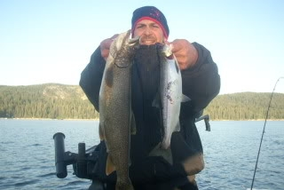 Tw fishing guide service specializing in kokanee king for Lake amador fishing